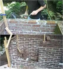 masonry outdoor fireplace outdoor stone fireplace kits ontario