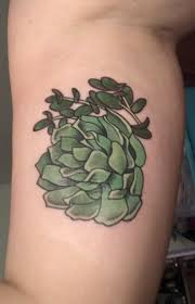 Succulent Tattoo On Inside Right Bicep By Jocelyn At Wildside Tattoo