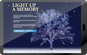 Milford Hospice Light Up A Memory Campaigns Champ Cloud