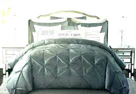 king size velvet embroidered reversible quilt cover coverlet set image 1 crushed duvet