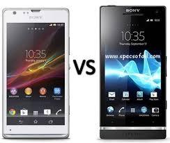 Sony Xperia Comparison Chart Compare Sony Xperia Sp Vs Sony Xperia Sl Smartphone