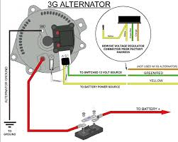 simple alternator wiring diagram efcaviation com ford 3g alternator wiring harness at 3g Alternator Wiring Diagram With Fuse