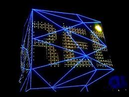 high tech modern architecture buildings.  Modern At Night The Three Faces Of Building Turn Into A Kaleidoscope With  Multiple Changeable LED Lights Giving Breathtaking Views To Spectators And High Tech Modern Architecture Buildings E
