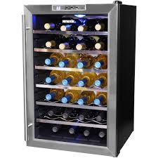 28 bottle freestanding wine cooler