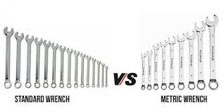 American Socket Size Chart Standard Vs Metric Wrench Know The Difference With Video