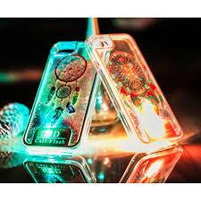 Dream Catcher Case Iphone 7 Plus iPhone 100 Plus LED Flash Design Liquid Star Dust Case Dream 30