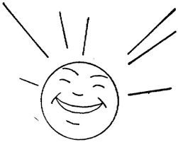 Small Picture Sun is Happy coloring page Free Printable Coloring Pages