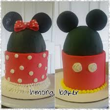 MICKEY MINNIE MOUSE CAKE Cake Decorating