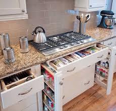 Kitchen: White Kitchen Cabinet - Kitchen Organization