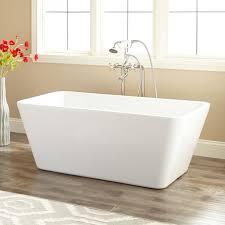 stylish acrylic freestanding bathtub 53 baxter acrylic freestanding tub bathroom