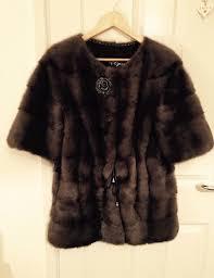luxury 100 real mink fur coat jacket size m 8 12 saga ysl chanel hermes armani moncler