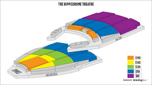 Hippodrome Theatre Seating Chart