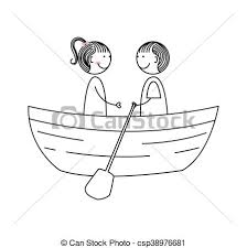 Cute Couple Love Icon