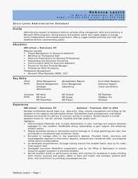 Entry Level Office Assistant Resumes 55 Unique Of Entry Level Medical Assistant Resume Stock