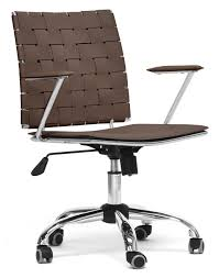modern office chair leather. Baxton-studio-vittoria-leather-modern-office-chair-brown. Modern Office Chair Leather -