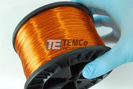 19 awg copper magnet wire mw0160 5 lb magnetic coil amber temco temco mw0160 copper magnet wire 3
