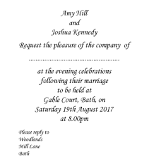 wedding invitation wording examples vanilla bloom Wedding Invite Wording Couple Hosting Uk formal evening invitation wording, bride & groom hosting Wedding Invitation Wording Informal