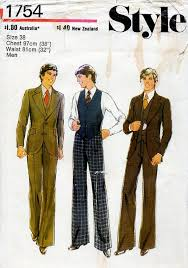 Mens Suit Sewing Patterns