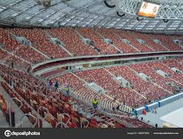 November 2017 Moscow Russia Stands Luzhniki Stadium Moscow