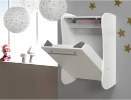 White Wood Wall Mounted Baby Changing Table Wall Mounted Changing Table  Baby Rooms
