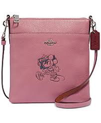 COACH Minnie Motif Messenger Crossbody, Created for Macys