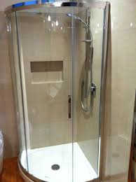 circa shower door is a stylish sliding curved glass screen circa