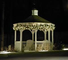 Threshold String Lights Gazebo Outdoor Gazebo Lighting Home Design Inspiration