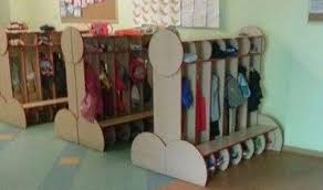 School Coat Racks School Apologises After Installing 'pornographic' Coat Racks 50