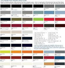2015 Jeep Wrangler Color Chart Jeep Wrangler Color Chart Www Bedowntowndaytona Com