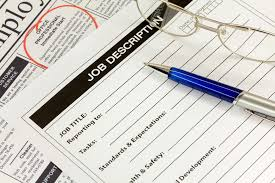 how to write your first job description bplans