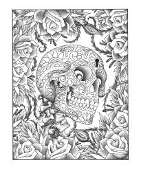 Coloring Pages 54 Incredible Printable Skull Coloring Pages Image