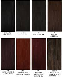 Dark Brown Red Hair Color Chart 1b Hair Color The Complete Guide Hair Theme