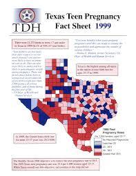Teen pregnancy rate in texas