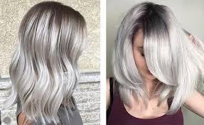 Пепельные оттенки покраски волос блонд