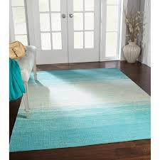 beautiful living room floor with turquoise ombre area rug for your interior design and grey blue designs flooring black cowhide dining plush rugs patchwork