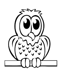 Small Picture Easy owl coloring pages for kids ColoringStar