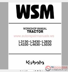 kubota full set workshop manual dvd auto repair manual forum 21 zg 9y11104650 9y12101201