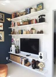 Small Picture Maggies FULL Condo Tour Shelving Entertainment and Storage