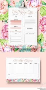free daily planner printables download daily and weekly free planner printables lovilee