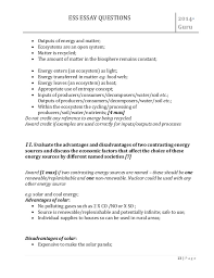 file ess important essay question asnwer 13 ess essay