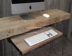 Reclaimed Wood Home Office Desks Recycled Things With Regard To