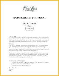 Format Sponsorship Letter Visa Template Business Sponsor