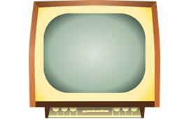 vintage tv png. tv television vintage antenna png