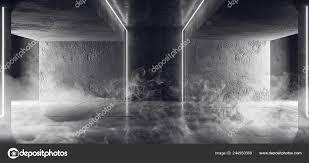 Cyber White Fog Lights Smoke Fog Sci Neon Cyber Futuristic Modern Retro Alien Dance