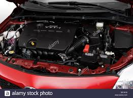 2009 Toyota Corolla XLE in Red - Engine Stock Photo: 19095922 - Alamy