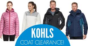 the men s and women s kohls coat clearance deals are hopping right now don t