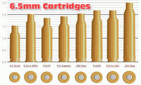 Quick Comparison Of Popular 6 5mm Rifle Cartridges Daily