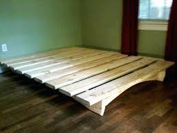 building bed frames platform