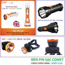 đèn pin sạc led comet