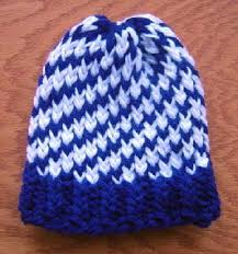Loom Knitting Hat Patterns Custom Cool Loom Knitted Hat Tutorial Knitting On A Loom Pinterest